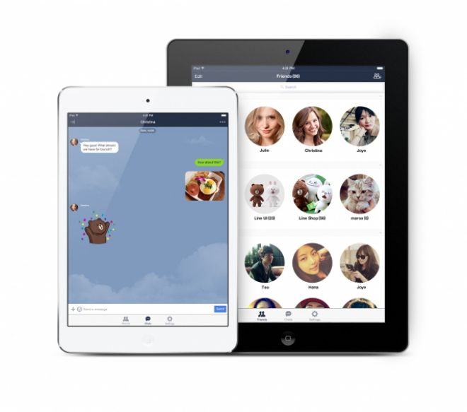 Line per iPad: l'app è disponibile per il tablet Apple