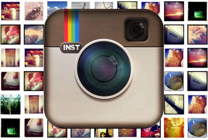 Logo Instagram con foto