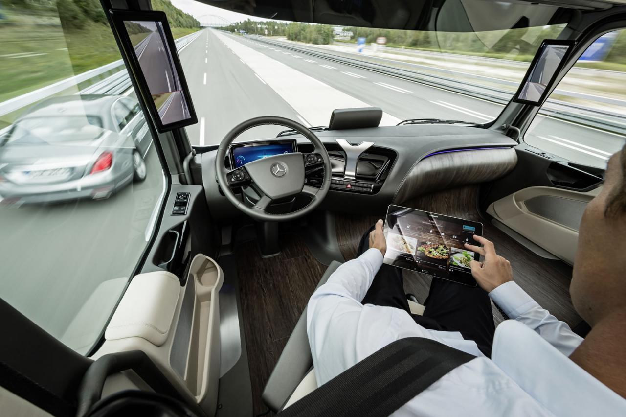 Mercedes Future Truck 2025 guida autonoma