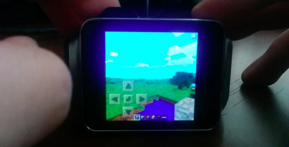 Minecraft su Android Wear