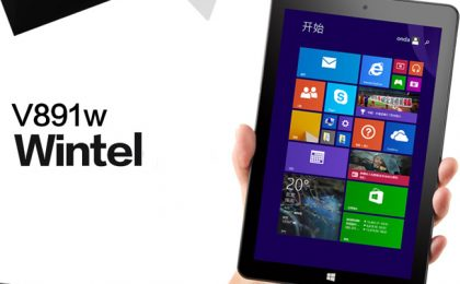 Onda V891w, tablet Windows 8 Full HD: scheda tecnica e prezzo