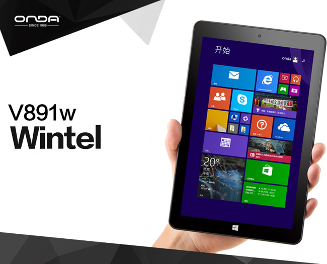 Onda V891w, tablet Windows 8 Full HD: scheda tecnica e prezzo