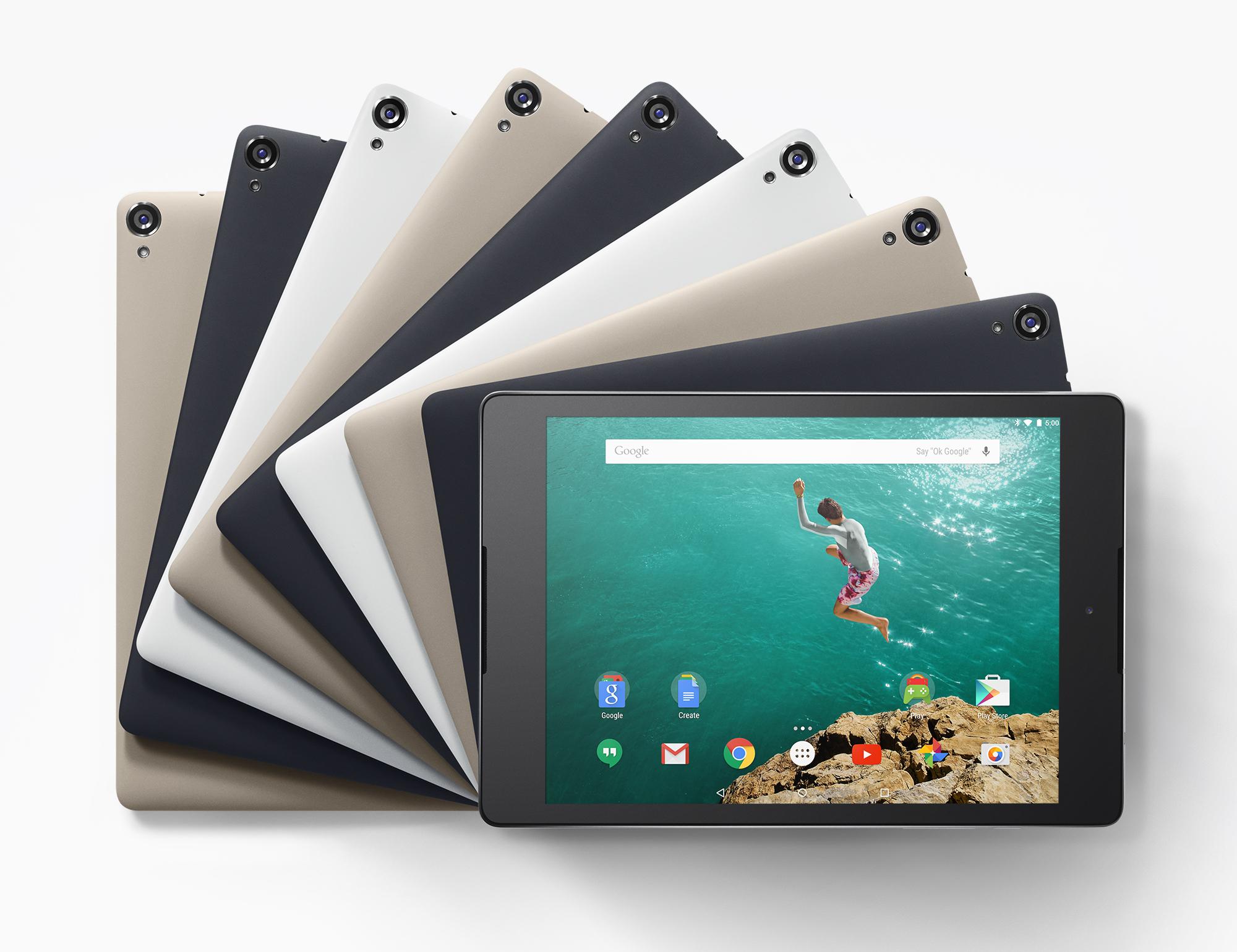 Specifiche tecniche Nexus 9