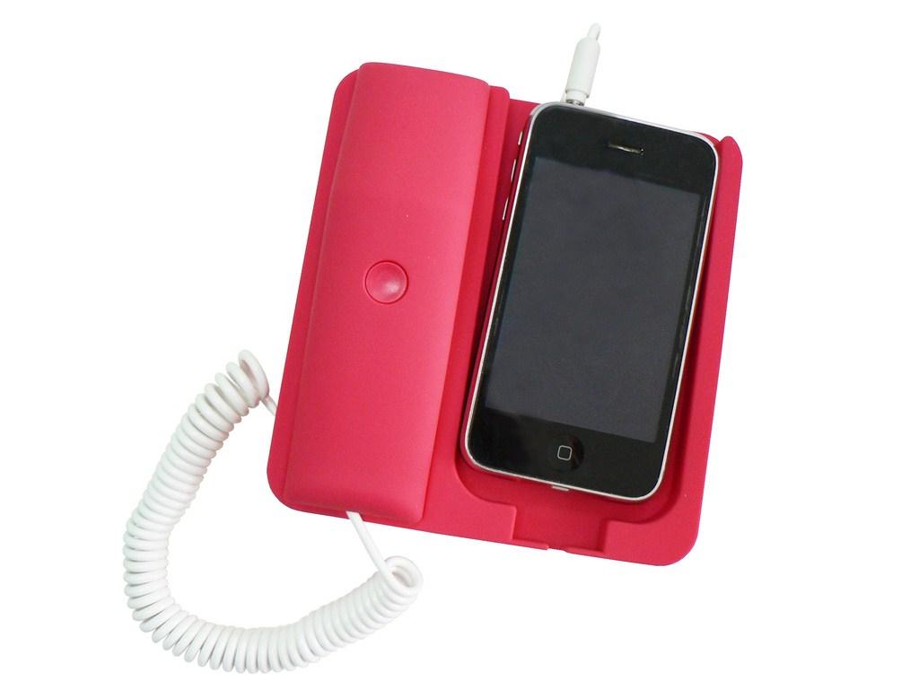 Telefono cellulare con cornetta