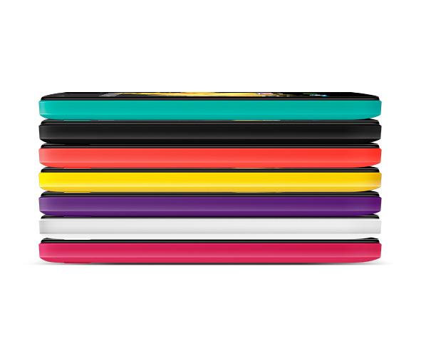 Wiko Birdy 4G spessore e colori