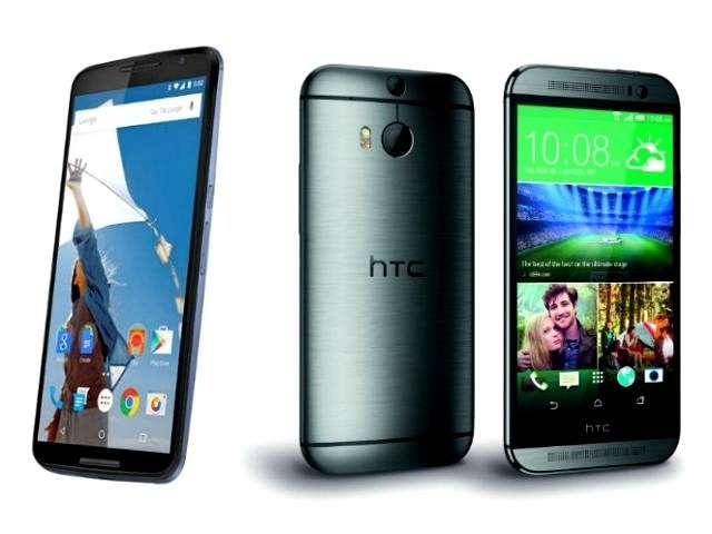 Nexus 6 vs HTC One M8: scheda tecnica e prezzo [FOTO]