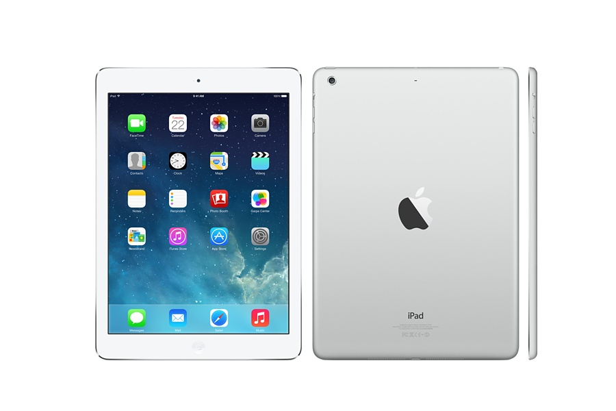 iPad Air anteriore e posteriore