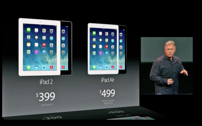 iPad Air e iPad Air 2 prezzi
