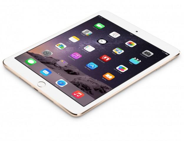 iPad Mini 3 visto dall'alto