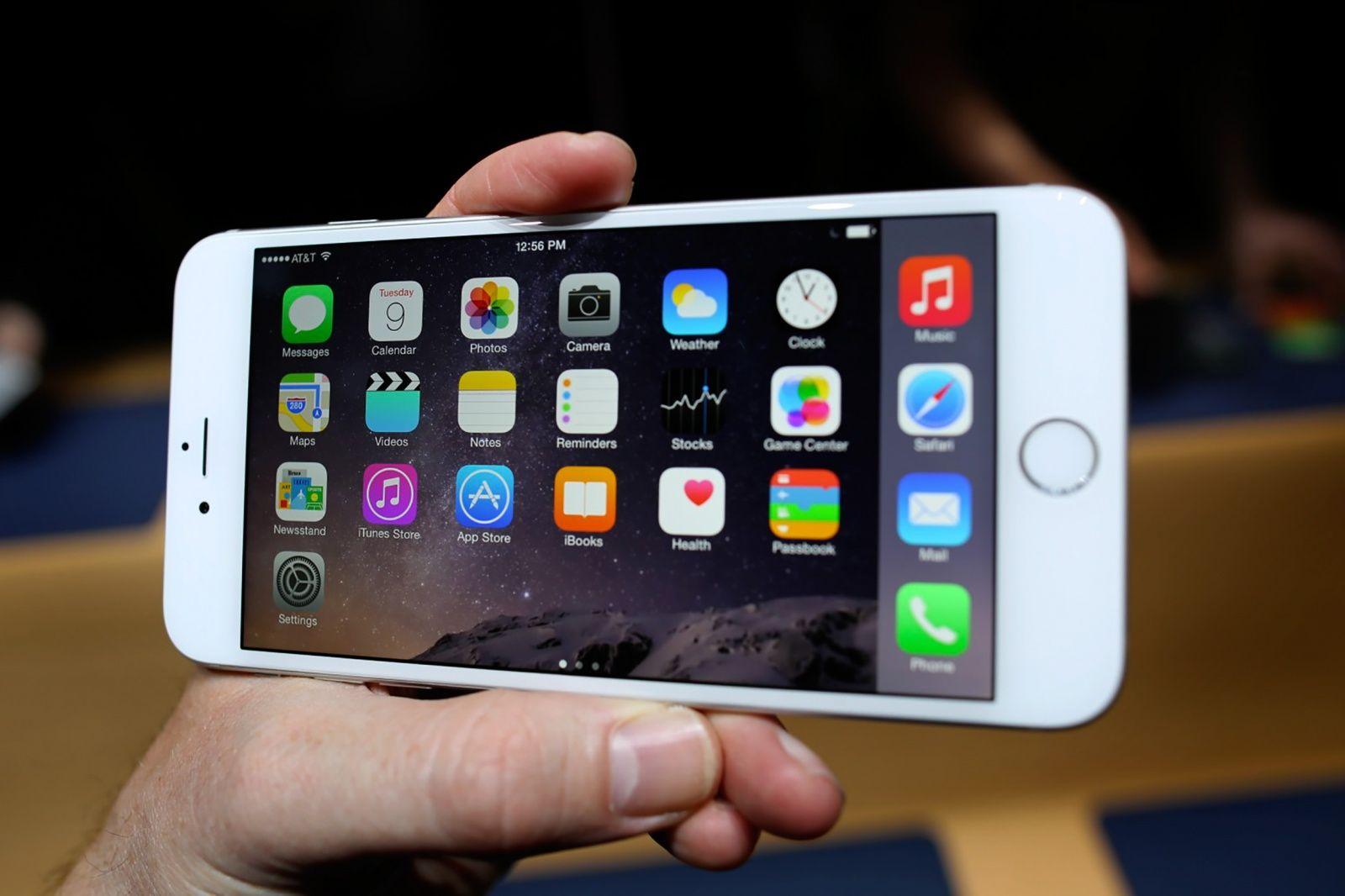 iPhone 6 Plus, lo schermo