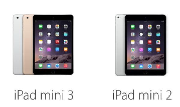 ipad mini 3 vs ipad mini 2