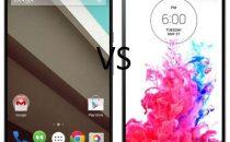 Nexus 6 vs LG G3: confronto e paragone [FOTO]