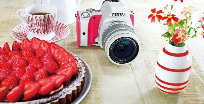 pentax ks 1 sweet collections rosa