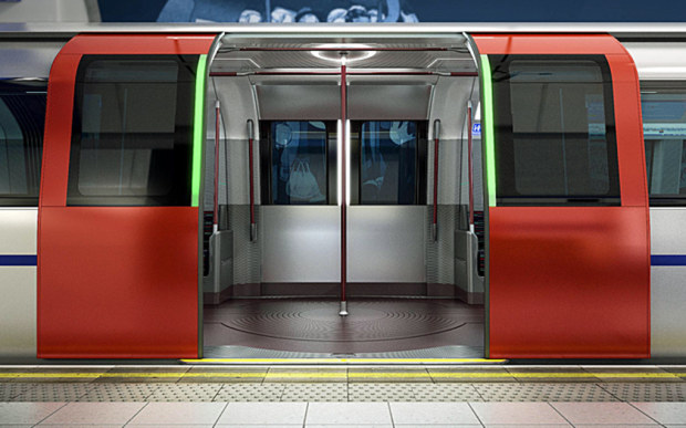 porte a scorrimento del new london tube