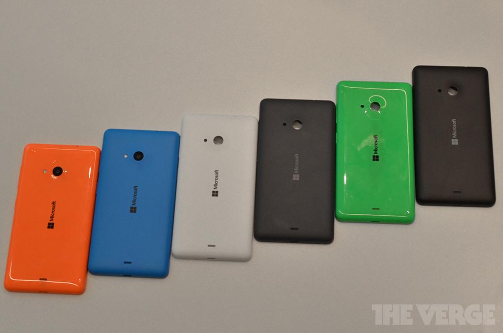 Colorazioni Lumia 535