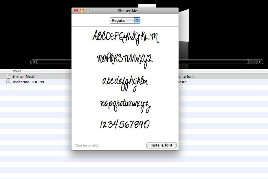 Come installare font su Mac