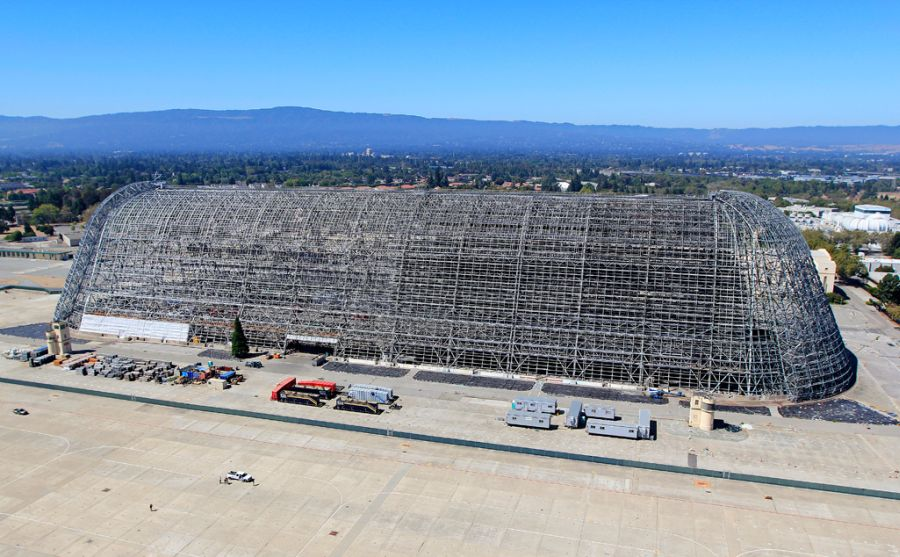 Google affitta Hangar One