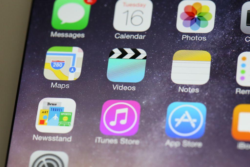 Le applicazioni di iOS 8.1