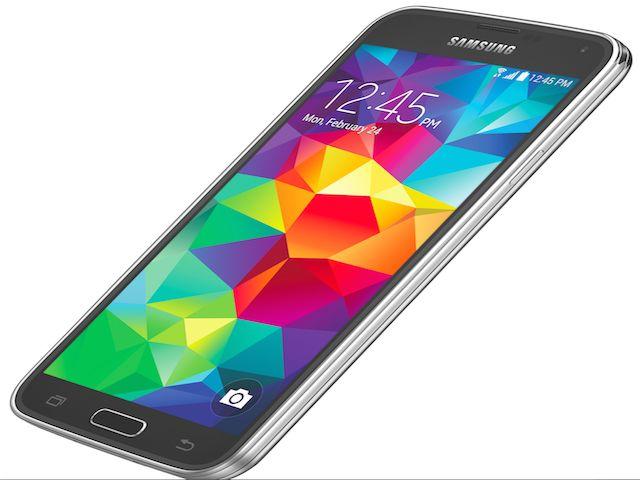 Lo schermo di Galaxy S5
