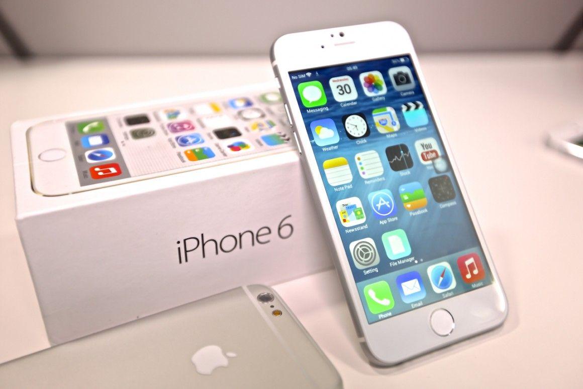 Lo schermo di iPhone 6