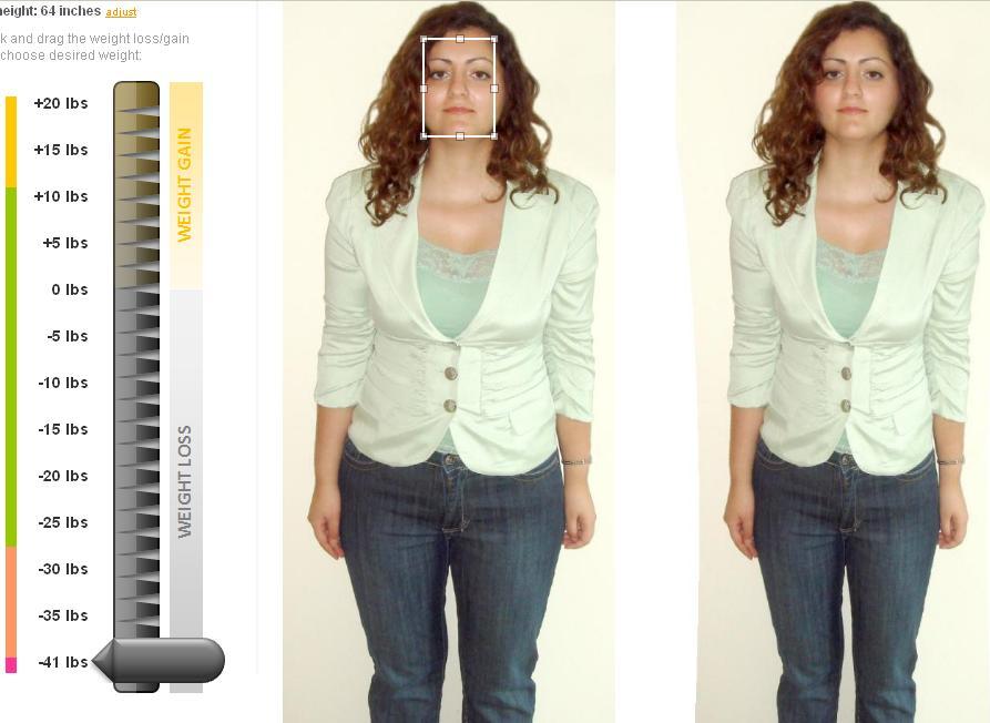 Modificare foto online con effetto dimagrimento1