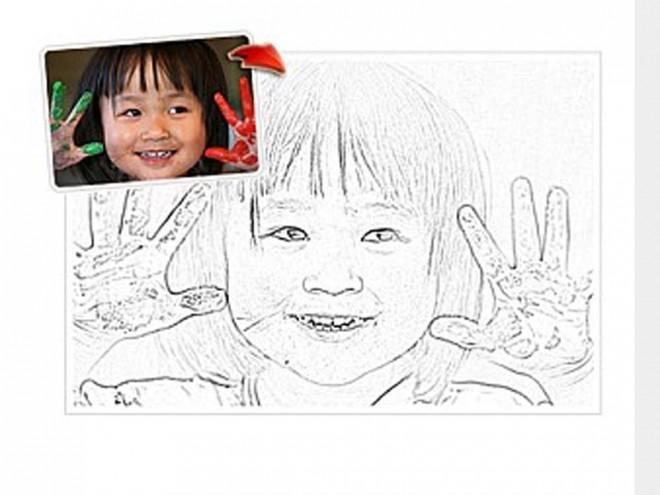 Modificare foto online con effetto matita 1