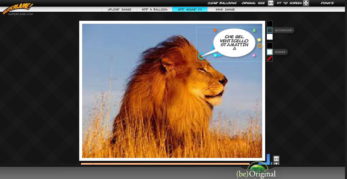 Modificare foto online con fumetti12