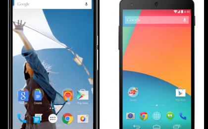 Nexus 5 batte Nexus 6, Android KitKat batte Lollipop