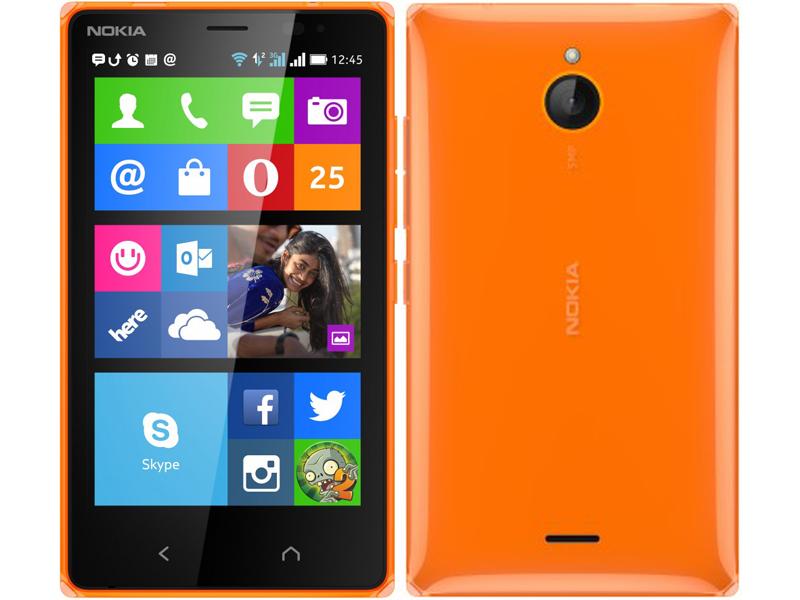 Nokia X2 orange