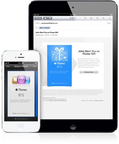 Regali iTunes Natale 2013