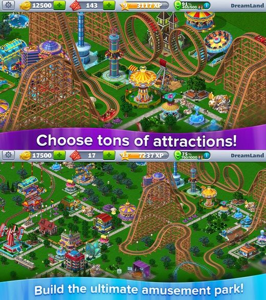 RollerCoaster Tycoon 4