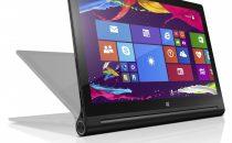 Lenovo Yoga Tablet 2 con Windows 8.1: scheda tecnica e prezzo