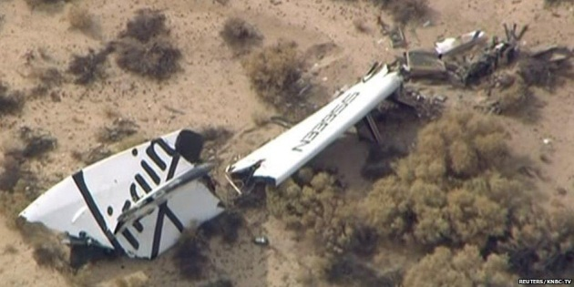 Virgin Galactic SpaceShipTwo precipita: un morto