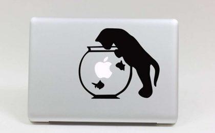 Adesivi per Macbook per modificare la mela del vostro device [FOTO]