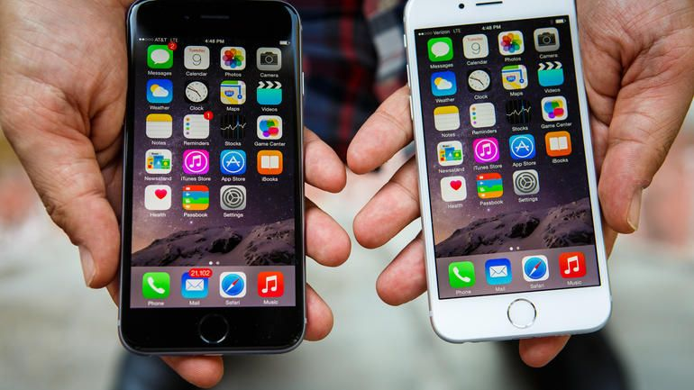 iOS 8.1 su iPhone 6