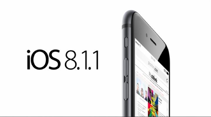 Aggiornamento iOS 8.1.1 per iPhone e iPad: tutte le novità