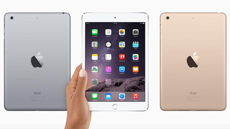 iPad Mini 3, il retro della scocca