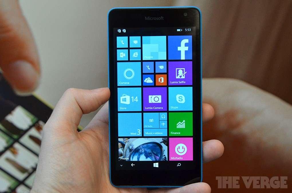 Microsoft Lumia 535: prezzo, scheda e uscita ufficiali