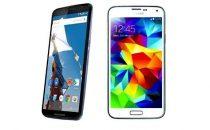 Samsung Galaxy S5 vs Nexus 6: confronto e paragone [FOTO]