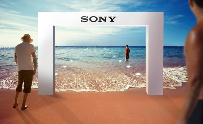 Sony apre il primo negozio sott'acqua, a Dubai
