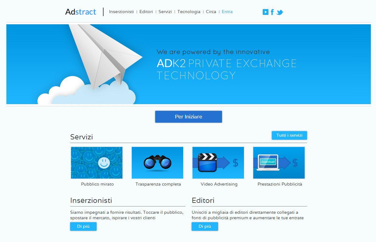 Homepage AdStract