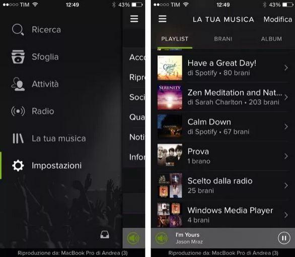 playlist iphone