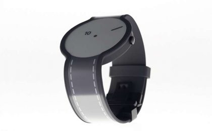 Sony FES Watch, lo smartwatch con display e-paper
