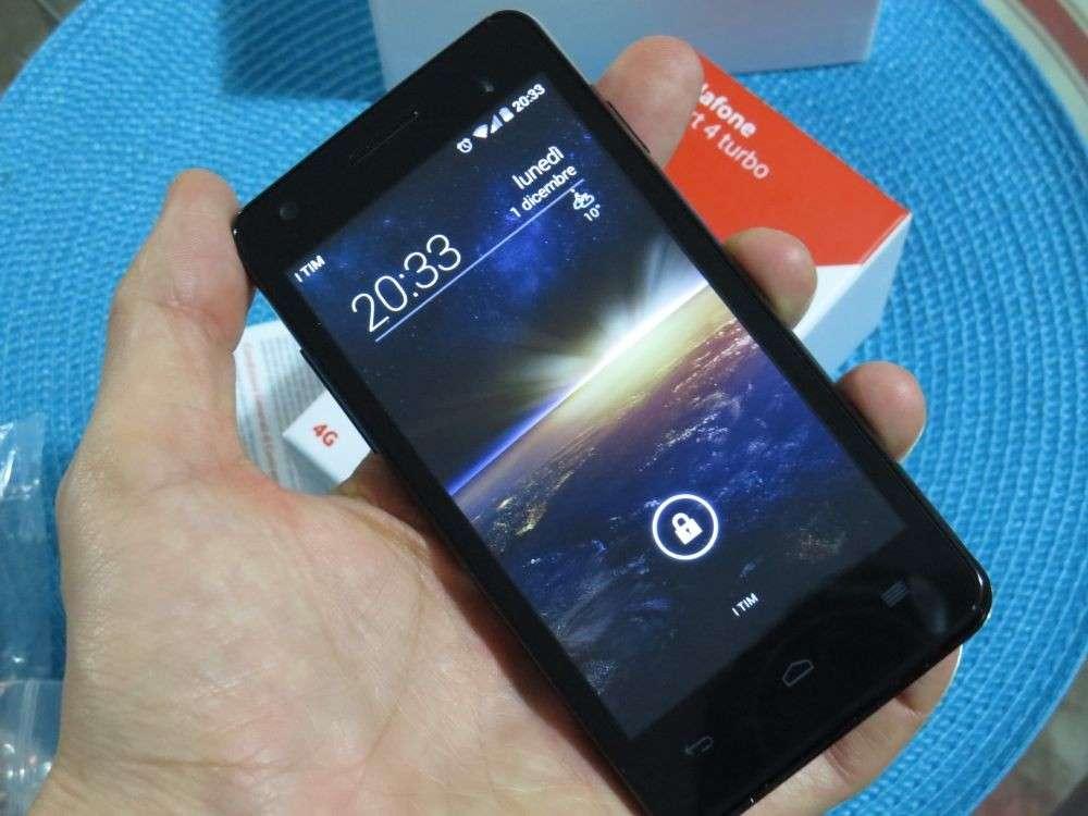 Vodafone Smart 4G Turbo: recensione e pro&contro [TEST]