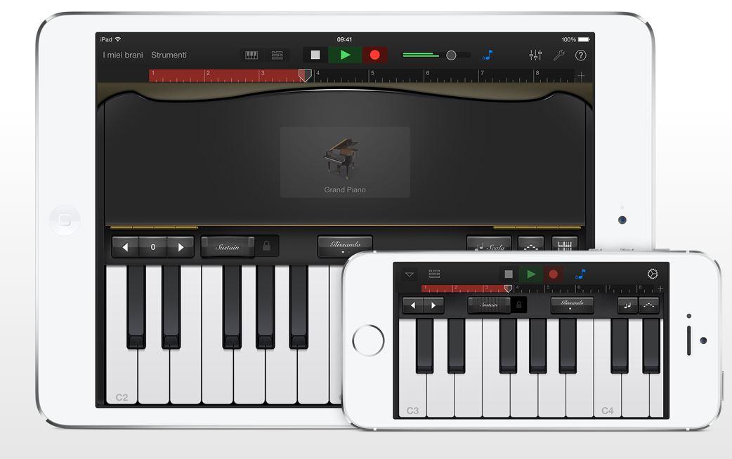 Garage Band iPhone e iPad