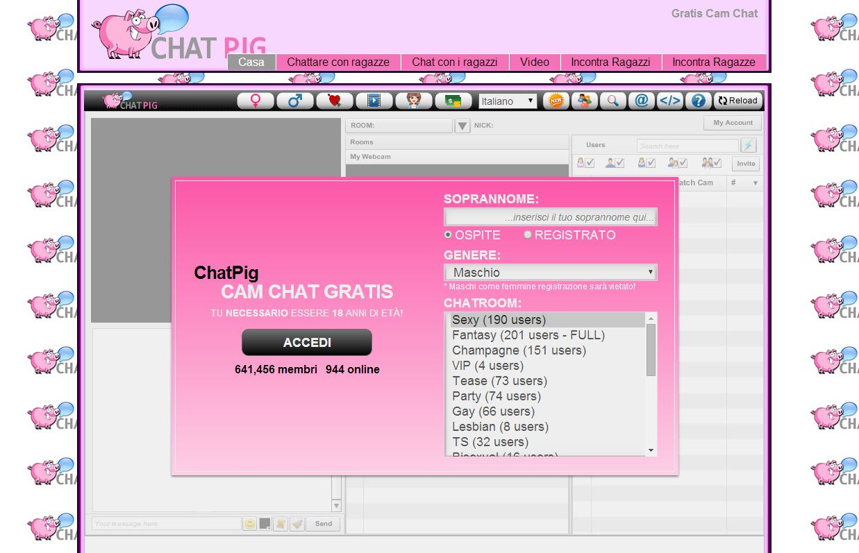 Homepage Chatpig