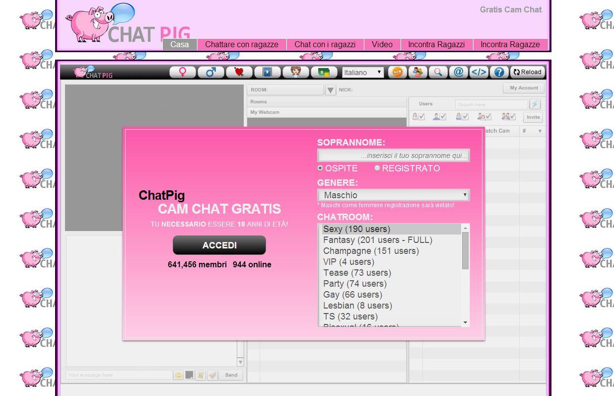 Homepage Chatpig