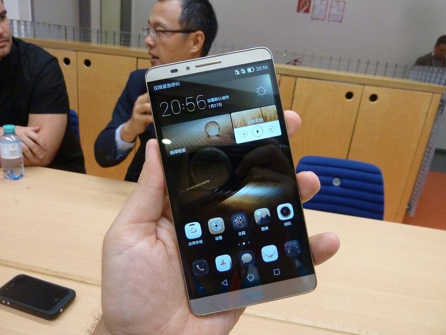 Huawei Mate 7 Compact: anticipazioni e nuove immagini