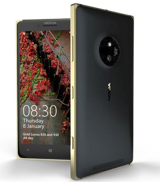 Lumia 830 e 930 Gold: le versioni speciali dorate
