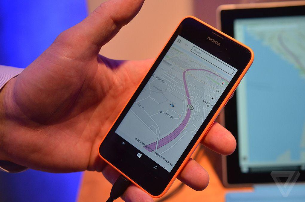 Mappe su Windows 10 per smartphone